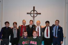 The Resurrection family at my initiation ceremony into the Phi Mu Alpha Sinfonia Gamma Alpha Chapter (2017)