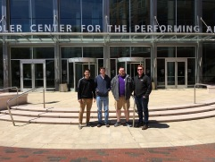 With the JMU Symphony Orchestra Low Brass at the Sandler Center performing Mahler 2 (2018)