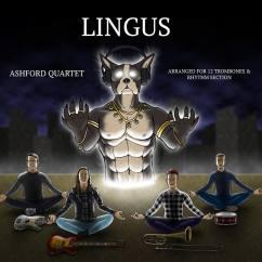 Beautiful cover art by my dear friend Ian Potash for the Ashford Quartet's rendition of Lingus (2018)