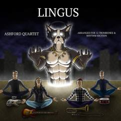 Beautiful cover art by my dear friend Ian Potash for the Ashford Quartet's rendition of Lingus (2018)