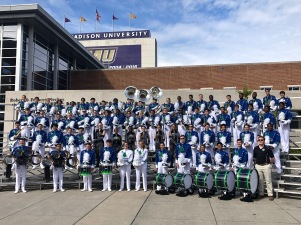 With the FPHS Marching Bruin Band post Parade of Champions performance at JMU's Parade of Champions (2019)